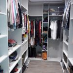 Agencement d'un dressing
