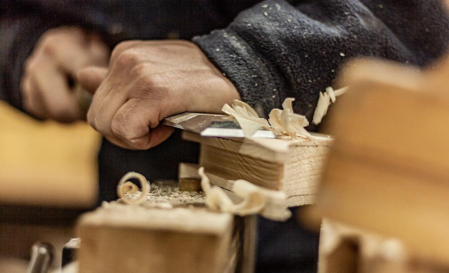 Micheneau possède le savoir-faire du bois