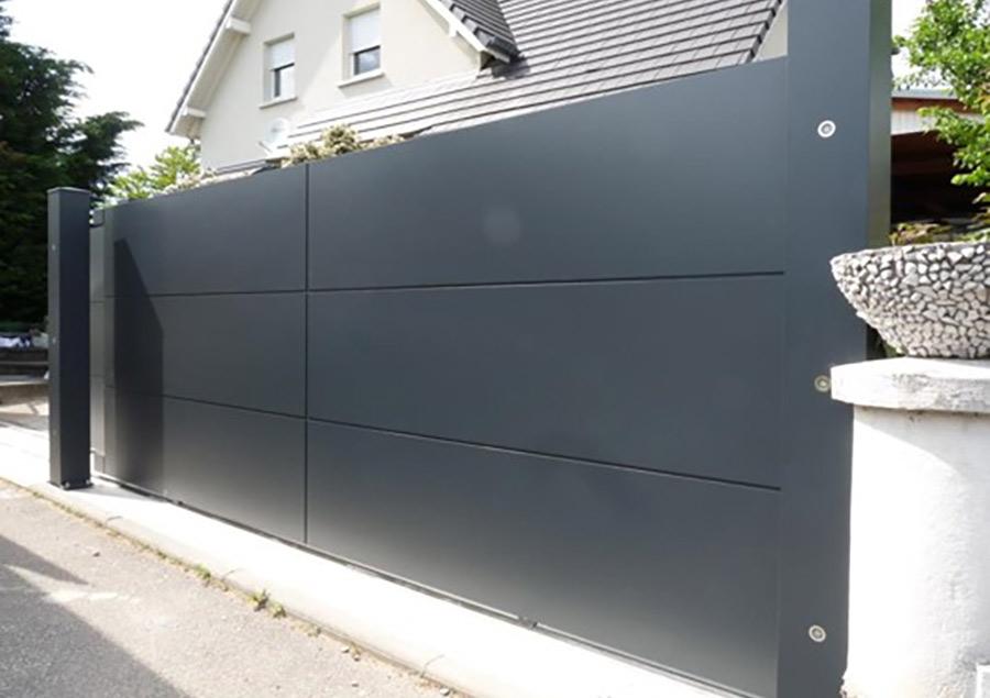 portail moderne réalisé par micheneau