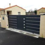 Portail de clôture Moderne et design