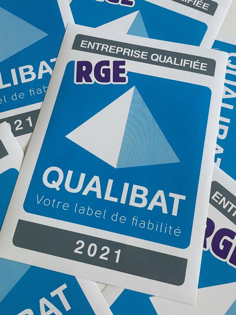 Gage officiel de compétence, de sérieux, de savoir-faire, MICHENEAU MENUISERIE est de nouveau certifiée qualibat RGE pour 2021